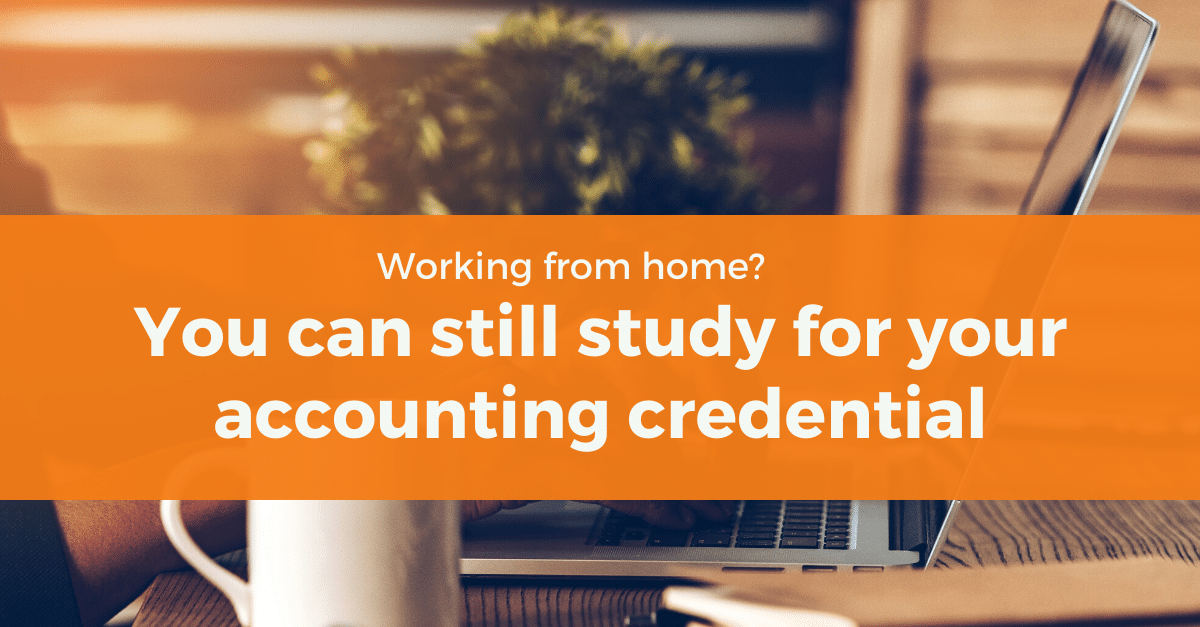 How to Study For Accounting Credential While Working Remote